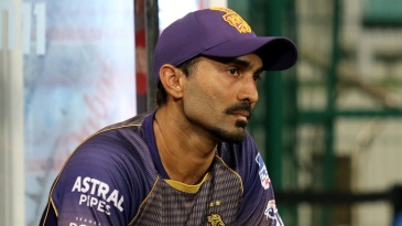 Dinesh Karthik in a pensive mood