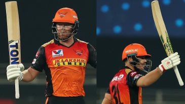 Jonny Bairstow and David Warner took 160 runs off the first 15 overs