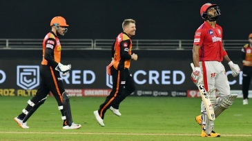 It was an evening of contrasting fortunes for captains David Warner and KL Rahul