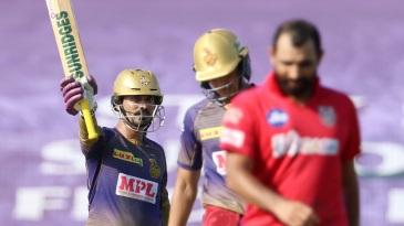 Dinesh Karthik slammed a quick half-century