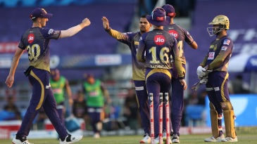 Sunil Narine was outstanding at the death