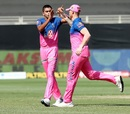Kartik Tyagi sent back Jonny Bairstow cheaply, Sunrisers Hyderabad vs Rajasthan Royals, IPL 2020, Dubai, October 11, 2020