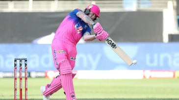 Ben Stokes opened the innings for Rajasthan Royals