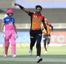Khaleel Ahmed sent Ben Stokes packing early on, Sunrisers Hyderabad vs Rajasthan Royals, IPL 2020, Dubai, October 11, 2020