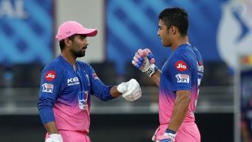 Rahul Tewatia and Riyan Parag scripted a fantastic comeback for the Royals