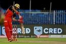 Devdutt Padikkal lofts one inside out, Royal Challengers Bangalore vs Kolkata Knight Riders, IPL 2020, Sharjah, October 12, 2020