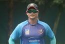 Jahanara Alam looks on during a practice session, Sher-e-Bangla National Stadium, Dhaka, October 13, 2020