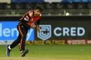 Rashid Khan bowls, Sunrisers Hyderabad vs Chennai Super Kings, IPL 2020, Dubai, October 13, 2020