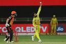 Ravindra Jadeja bowls, Sunrisers Hyderabad vs Chennai Super Kings, IPL 2020, Dubai, October 13, 2020