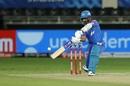 Ajinkya Rahane steers a wide one towards third man, Delhi Capitals vs Rajasthan Royas, IPL 2020, Dubai, October 14, 2020