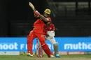 Shivam Dube swings one across the line, Royal Challengers Bangalore vs Kings XI Punjab, IPL 2020, Sharjah, October 15, 2020