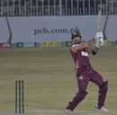 Sohaib Maqsood carves one over cover during his knock of 81, Southern Punjab vs Balochistan, National T20 Cup, , Rawalpindi, October 16, 2020