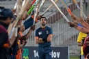 Umar Gul gets a guard of honour, Balochistan vs osuthern Punjab, National T20 Cup, Rawalpindi, October 16, 2020