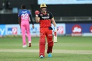 AB de Villiers exults after taking the Royal Challengers Bangalore to victory, Rajasthan Royals vs Royal Challengers Bangalore, Dubai, IPL 2020, October 17, 2020