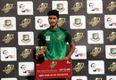 Rishad Khan was was adjudged the best bowler of the match, Dhaka, October 17, 2020