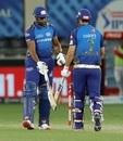 Kieron Pollard and Nathan Coulter-Nile put in some meaty blows towards the end, Mumbai Indians vs Kings XI Punjab, IPL 2020, Dubai, October 18, 2020