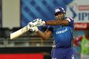 Kieron Pollard hit four sixes in his 12-ball 34*, Mumbai Indians vs Kings XI Punjab, IPL 2020, Dubai, October 18, 2020