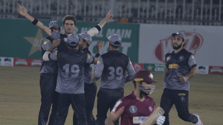 Shaheen Afridi picked up three big wickets in the final