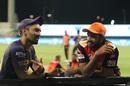 IPL match done, TN team-mates Dinesh Karthik and Vijay Shankar catch up, Sunrisers Hyderabad vs Kolkata Knight Riders, IPL 2020, Abu Dhabi, October 18, 2020