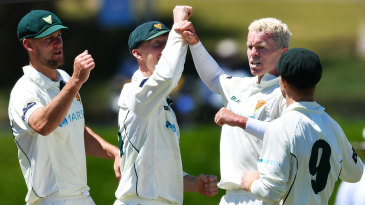Peter Siddle was in the wickets for Tasmania