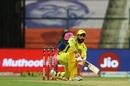 Ravindra Jadeja pulls out the sweep, Chennai Super Kings vs Rajasthan Royals, IPL 2020, Abu Dhabi, October 19, 2020