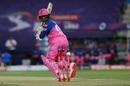 Robin Uthappa works one to fine leg, Chennai Super Kings vs Rajasthan Royals, IPL 2020, Abu Dhabi, October 19, 2020