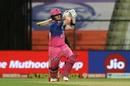 Steven Smith swings one through the leg side, Chennai Super Kings vs Rajasthan Royals, IPL 2020, Abu Dhabi, October 19, 2020