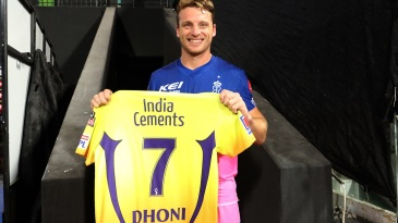 Jos Buttler receives a special gift after finishing the chase for the Rajasthan Royals