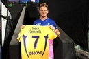 Jos Buttler receives a special gift after finishing the chase for the Rajasthan Royals, Chennai Super Kings vs Rajasthan Royals, IPL 2020, Abu Dhabi, October 19, 2020