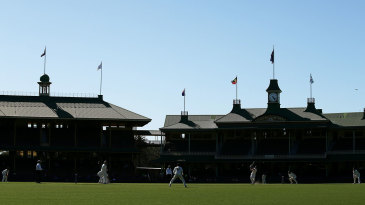 The SCG would see plenty of India during their tour