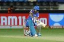 Shikhar Dhawan rolls out a sweep, Delhi Capitals vs Kings XI Punjab, IPL 2020, Dubai, October 20, 2020