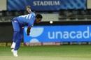 Kagiso Rabada bends his back, Delhi Capitals vs Kings XI Punjab, IPL 2020, Dubai, October 20, 2020