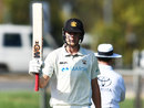 Cameron Green acknowledges his 150, Western Australia v New South Wales, Sheffield Shield, Park 25, Adelaide, October 21, 2020