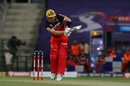 Aaron Finch works one off his pads, Kolkata Knight Riders vs Royal Challengers Bangalore, IPL 2020, Abu Dhabi, October 21, 2020