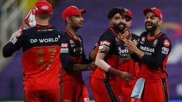 Mohammed Siraj gave Virat Kohli plenty to smile about