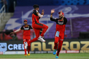 Flying high: Mohammed Siraj had a night to remember against KKR, Kolkata Knight Riders vs Royal Challengers Bangalore, IPL 2020, Abu Dhabi, October 21, 2020