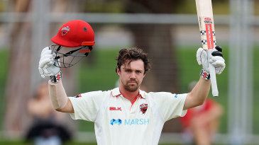 Travis Head carried South Australia to a draw