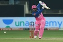 Robin Uthappa smacks one through extra cover, Rajasthan Royals vs Sunrisers Hyderabad, IPL 2020, Dubai, October 22, 2020