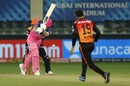 Rashid Khan gets one through the defence of Ben Stokes, Rajasthan Royals vs Sunrisers Hyderabad, IPL 2020, Dubai, October 22, 2020
