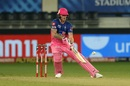 Ben Stokes attempts a ramp over third man, Rajasthan Royals vs Sunrisers Hyderabad, IPL 2020, Dubai, October 22, 2020