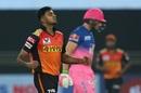 Vijay Shankar reacts after dismissing Jos Buttler, Rajasthan Royals vs Sunrisers Hyderabad, IPL 2020, Dubai, October 22, 2020