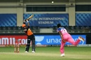Vijay Shankar lofts Jofra Archer down the ground, Rajasthan Royals vs Sunrisers Hyderabad, IPL 2020, Dubai, October 22, 2020