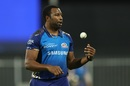 Kieron Pollard gets ready to bowl, Chennai Super Kings vs Mumbai Indians, Sharjah, IPL 2020, October 23, 2020