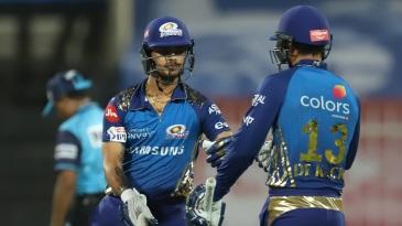 Ishan Kishan and Quinton de Kock gave Mumbai Indians the start they wanted