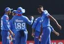 Kagiso Rabada picked up the wicket of Dinesh Karthik, Kolkata Knight Riders vs Delhi Capitals, IPL 2020, Abu Dhabi, October 24, 2020