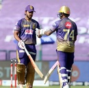 Nitish Rana and Sunil Narine added 115 runs for the fourth wicket, Kolkata Knight Riders vs Delhi Capitals, IPL 2020, Abu Dhabi, October 24, 2020
