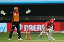 Jonny Bairstow is delighted as KL Rahul is bowled by Rashid Khan, Kings XI Punjab vs Sunrisers Hyderabad, IPL 2020, Dubai, October 24, 2020