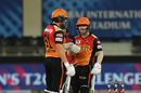 David Warner and Jonny Bairstow put up another half-century stand, Kings XI Punjab vs Sunrisers Hyderabad, IPL 2020, Dubai, October 24, 2020