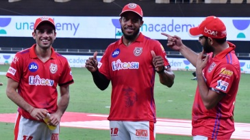 Ravi Bishnoi, Chris Jordan and Mohammed Shami - the heart of KXIP