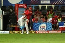 Glenn Maxwell, J Suchith and a celebration for a catch to remember, Kings XI Punjab vs Sunrisers Hyderabad, IPL 2020, Dubai, October 24, 2020